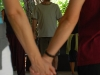 Kézfogása körben - Családi tábor Máriahalom, Biofaluban, 2009. aug.