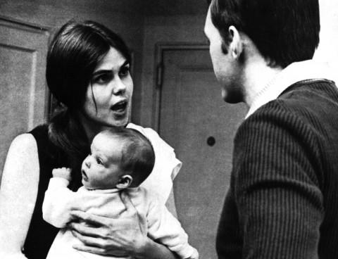 A szülők veszekszenek, a baba figyel