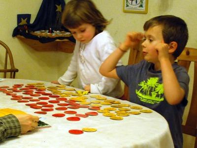 Ónodi Eszter és Bence kirakós játék, 2010 január