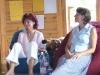 Tünde és Erika a 2008-as nyári táborban
