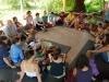 Megosztókör-1- Családi tábor Máriahalom, Biofaluban, 2009. aug.